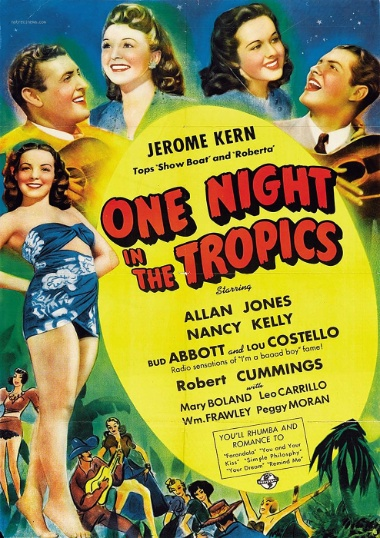 One Night in the Tropics poster