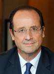 Portrait of François Hollande